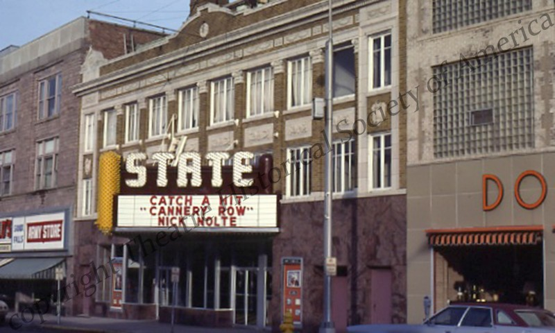 The State Theatre in Sioux Falls, SD.  Photo from the THS archive